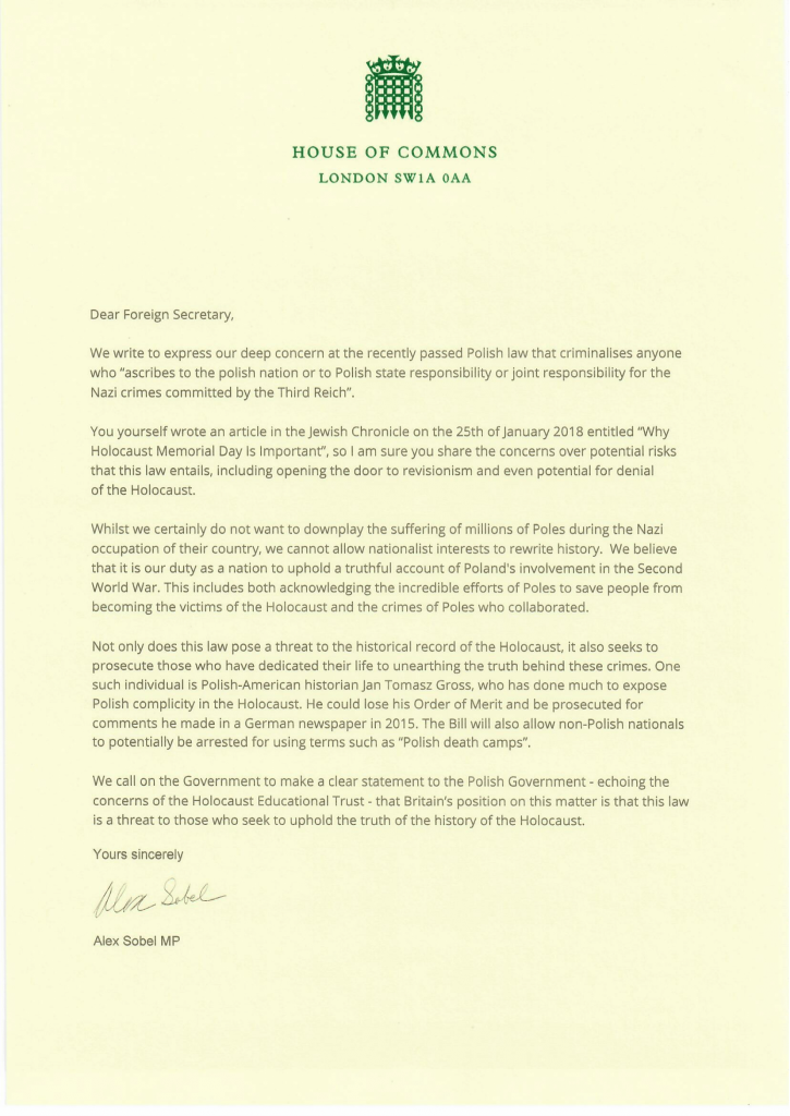 Alex sobel mp alex sobel calls on uk foreign secretary to denounce i hope to post my response from the foreign secretary and in due course to secure a full parliamentary debate expocarfo Choice Image